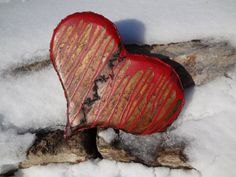 Hey, I found this really awesome Etsy listing at https://www.etsy.com/listing/173232858/metal-art-handmade-broken-heart-tattered...Created by thebeardedwelder ...