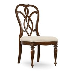 Shop for Hooker Furniture Leesburg Splatback Side Chair - 2 per carton/price ea, and other Dining Room Chairs furniture. Solid Wood Dining Chairs, Upholstered Dining Chairs, Dining Chair Set, Dining Room Chairs, Dining Room Furniture, Side Chairs, Dining Table, Console Table, Furniture Decor