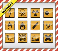 Lab Safety Symbols are an important part of Laboratory safety.Warning signs and safety signs are a regular part of everyday modern life.Lab Safety Symbols warn technicians about the potential hazards and dangers within a laboratory environment.Whereas safety signs keep the rest of us aware and in turn safe.