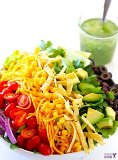 This Taco Salad Recipe is Colorful and Delicious