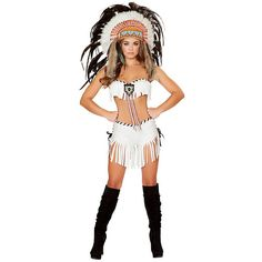 Adult Tribal Princess Sexy Costume ($80) ❤ liked on Polyvore featuring costumes, halloween costumes, multicolor, adult princess costume, roma costume, princess costume, adult princess halloween costumes и warrior princess costume