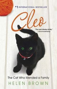 """""""Cleo The Cat Who Mended A Family""""  by Helen Brown (Non-Fiction 155.937) Recommended by : Melody"""