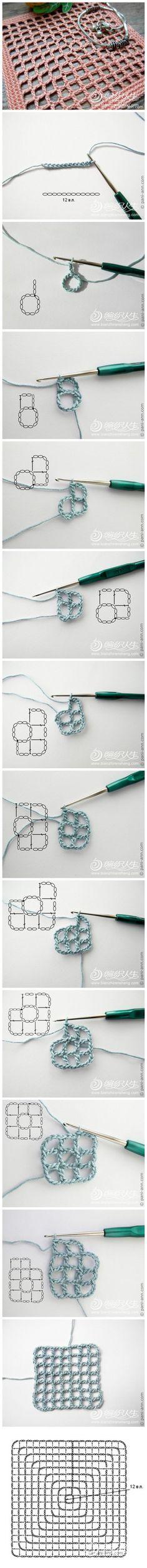 Patrón de los guantes a crochet   CROCHET Y PUNTO   Pinterest ...