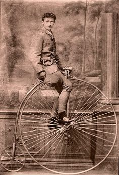 Penny-farthing by ookami_dou, via Flickr