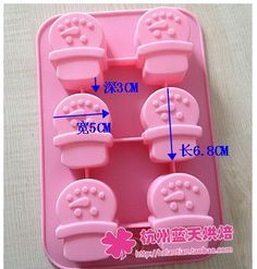 Wholesale/retail,free shipping ,6 hole Christmas Snowman silicone Chocolate Mold Cake Mold soap mould 25.5*17.5*3CM-in Cake Molds from Home & Garden on Aliexpress.com