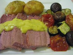Varoma steamed Corned Beef