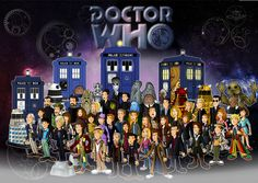 Doctor Who - Cartoon Style!
