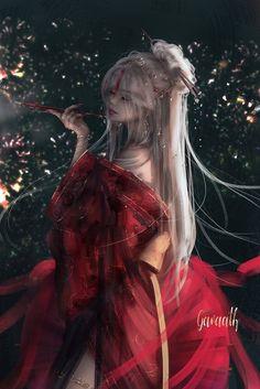 Fantasy Art Women, Fantasy Girl, Chobits Anime, Digital Art Girl, Pretty Art, Anime Art Girl, Female Characters, Female Art, Art Reference