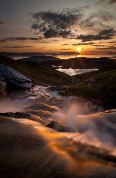 ~~Midnight Glory... | midnight sun provides amazing light in the mountains, Troms, Norway | by Arild Heitmann~~