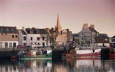 Stornoway harbour on the Isle of Lewis