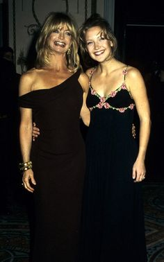 Kate Hudson and mother Goldie Hawn in 1997