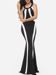 Halter Blended Assorted Colors Evening Dress