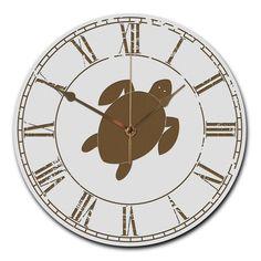 Wanduhr rund Schildkröte aus MDF  Weiß - Das Original von Mr. & Mrs. Panda.  Eine wunderschöne runde Wanduhr aus hochwertigem MDF Holz mit goldenen Zeigern und absolut lautlosem Uhrwerk    Über unser Motiv Schildkröte  Schildkröten gelten als besonders gemütliche Tiere, die schon länger Erdbewohner sind als wir Menschen. Sie können bis zu 100 Jahre alt werden.    Verwendete Materialien  ##MATERIALS_DESCRIPTION##    Über Mr. & Mrs. Panda  Mr. & Mrs. Panda - das sind wir - ein junges Pärchen…