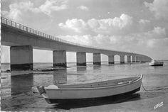 Pont d'Oléron - Ile d'Oléron vintage, Charente-Maritime, France