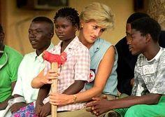 """Diana, """"a princesa do povo"""": espontaneidade, caridade e emoções à flor da pele (Foto: Reprodução)"""