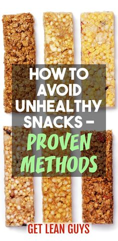 How to Avoid Unhealthy Snacks – Proven Methods