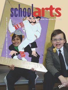 SchoolArts Magazine, February 2009, art education magazine for K-12 art educators, #arteducation, #arted