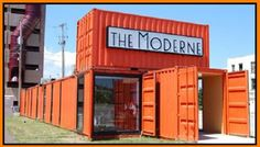 START A BUSINESS IN A SHIPPING CONTAINER