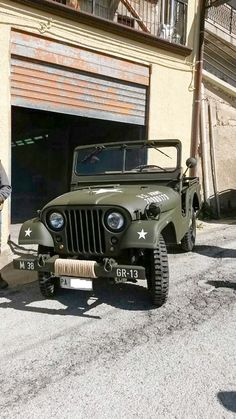 Willys M38A1 - Photo submitted by Giorgio Rini.