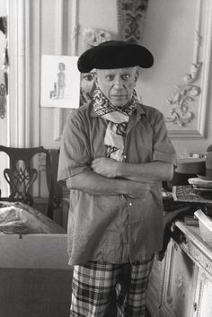 Pablo Picasso by Edward Quinn.