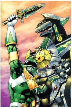 70 ilustraciones de los Power Rangers que si se pueden Ver - Taringa!