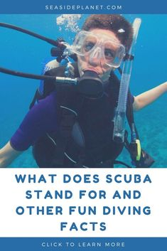 What does SCUBA stand for? When was it invented? What colors can't you see when you dive deep? We answers these questions and more! Scuba Diving Courses, Scuba Diving Equipment, Scuba Diving Gear, Cave Diving, Breathing Underwater, Underwater World, Scuba Diving Certification, East Coast Usa, Dive Mask
