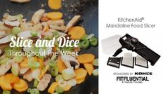 Ditch the Kitchen: How To Prep Your Thanksgiving Menu   KitchenAid® Mandoline Food Slicer. Sponsored by Kohl's