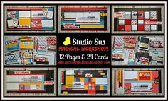 Just Crazy Blessed : Studio Sus 'Magical' Workshop with Cutting Files! Creates 12 Scrapbook Pages & 24 Greeting Cards with a Cutting Guide! or Join my CTMH Team to receive UNLIMITED access to my Workshop Files Library FREE! www.justcrazyblessed.blogspot.com