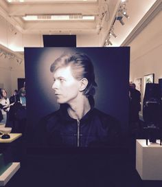 Bowie/Collector Exhibition at Sotheby's London