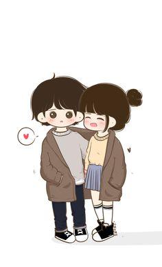 Couples cartoon Misss u oyee. Misss u oyee. Love Cartoon Couple, Cute Couple Comics, Chibi Couple, Cute Cartoon Girl, Cute Love Cartoons, Cute Couple Art, Anime Love Couple, Cute Couple Pictures, Cute Anime Couples