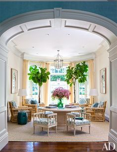 Visit an elegant Miles Redd–designed home in California