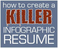 Kill Infographic Resume title