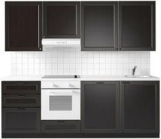 Küchenfront – IKEA LAXARBY Massive Birke/Birkenfunier gebeizt und klar lakiert