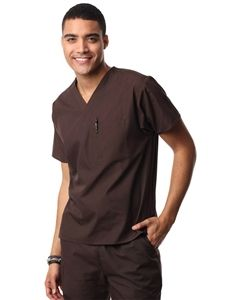 d7b2faff575 Maevn Unisex Fit V-neck Scrub Top 1006 One chest pocket w/ pen slot Tagless  for added comfort Double-stitched at shoulders and pockets for durability  Set-in ...
