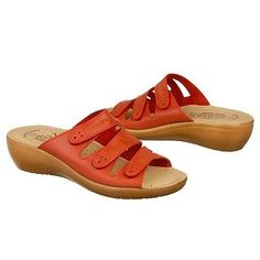 Fly Flot Sun Sandals (Red) - Women's Sandals - 42.0 M