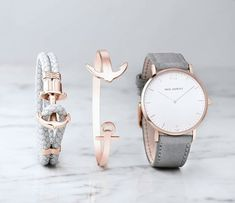 Amazing Uhr Sailor Line White Sand IP Roségold Lederarmband Grau – Watch Sailor Line White Sand IP Rose Gold Leather Strap Gray – Women Accessories, Jewelry Accessories, Fashion Accessories, Fashion Jewelry, Montre Paul Hewitt, Trendy Watches, Bracelet Cuir, Cute Jewelry, Earrings
