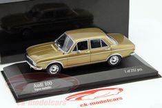 CK-Modelcars - 430019160: Audi 100 год 1969 золото 1:43 Minichamps, EAN 4012138132917