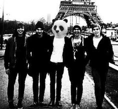 5 Seconds of Summer with a Panda
