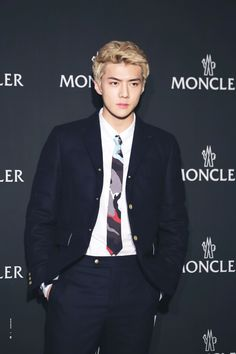 Sehun - 161028 Moncler Launching Event Credit: Iridescent Boy. (몽클레르 르런칭 이벤트)