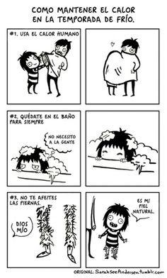 15 dibujos que demuestran que ser niña NO ES FÁCIL :( - Imagen 4