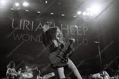 Mick Box in 1975