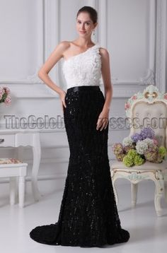 Celebrity Inspired One Shoulder Formal Dress Evening Gown - TheCelebrityDresses