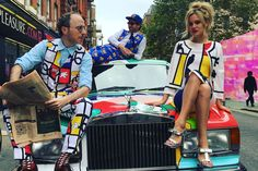 Painting is dead, so make art cars! Philip Colbert, who wrapped an Eighties Rolls Royce in a Mickey Mouse design with the Bamford Watch Department, writes about the art cars that inspired his designs