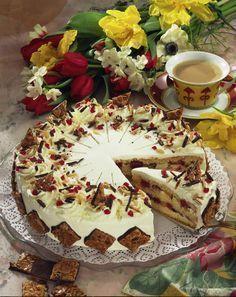 Unser beliebtes Rezept für Florentiner Torte und mehr als 55.000 weitere kostenlose Rezepte auf LECKER.de.
