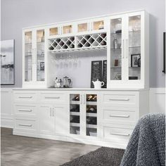 NewAge Products Home Bar 6 Piece Shaker Style Diy Home Bar, Home Bar Decor, Bars For Home, Diy Bar, Modern Bar Cabinet, Home Bar Areas, Shaker Style Doors, Home Bar Designs, Bar Furniture