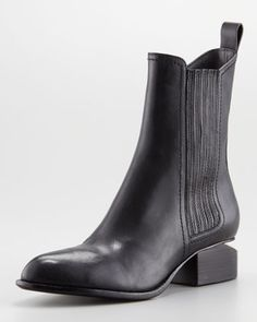 Black Chelsea Boots by Alexander Wang. Buy for $595 from Neiman Marcus