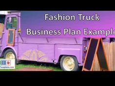 mobile fashion store business plan - template with example sample Business Plan Example, Business Plan Template, Business Planning, Trucks, Templates, How To Plan, Store, Fashion, Business Plan Sample