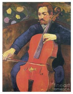 Paul Gauguin The Cellist painting is shipped worldwide,including stretched canvas and framed art.This Paul Gauguin The Cellist painting is available at custom size. Paul Gauguin, Henri Matisse, Andre Derain, Paul Cézanne, Impressionist Artists, Modigliani, Georges Braque, Oil Painting Reproductions, Art Moderne