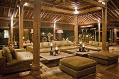 Bali. Outside patio area