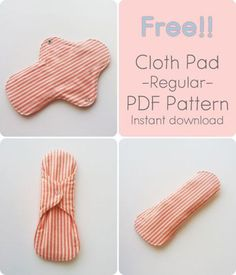 21 March Let's make your own handmade cloth pad today! It's better than disposable sanitary pads! I completed this sewing pattern recently and I already . Reuseable Pads, Reusable Menstrual Pads, Sewing Patterns Free, Clothing Patterns, Feminine Pads, Mama Cloth, Cloth Pads, Just In Case, Sewing Projects